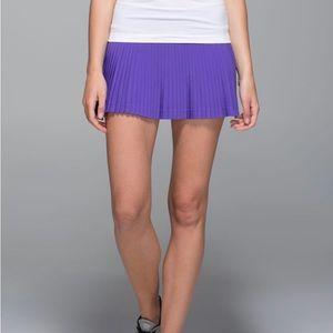 Lululemon Pleat To Street Skirt II 8